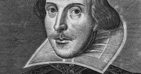 Retrato de William Shakespeare del 'First Folio' (1623) / DROESHOUT