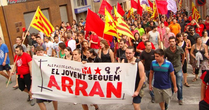 arran tropas elite independentismo catalan