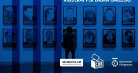 Cartel de la obra 'presos políticos' que se exhibirá en Argentona
