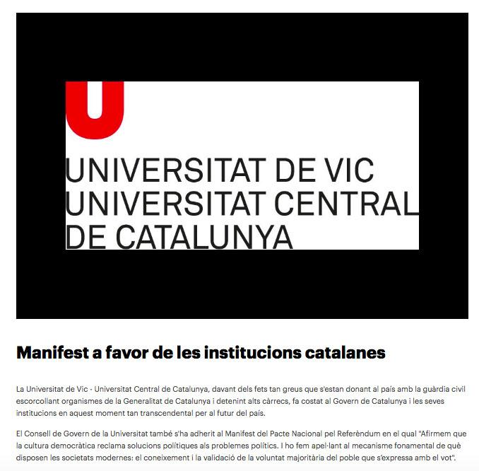 vic universidad