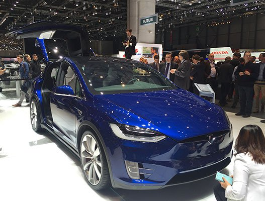 El Model X de Tesla / CG