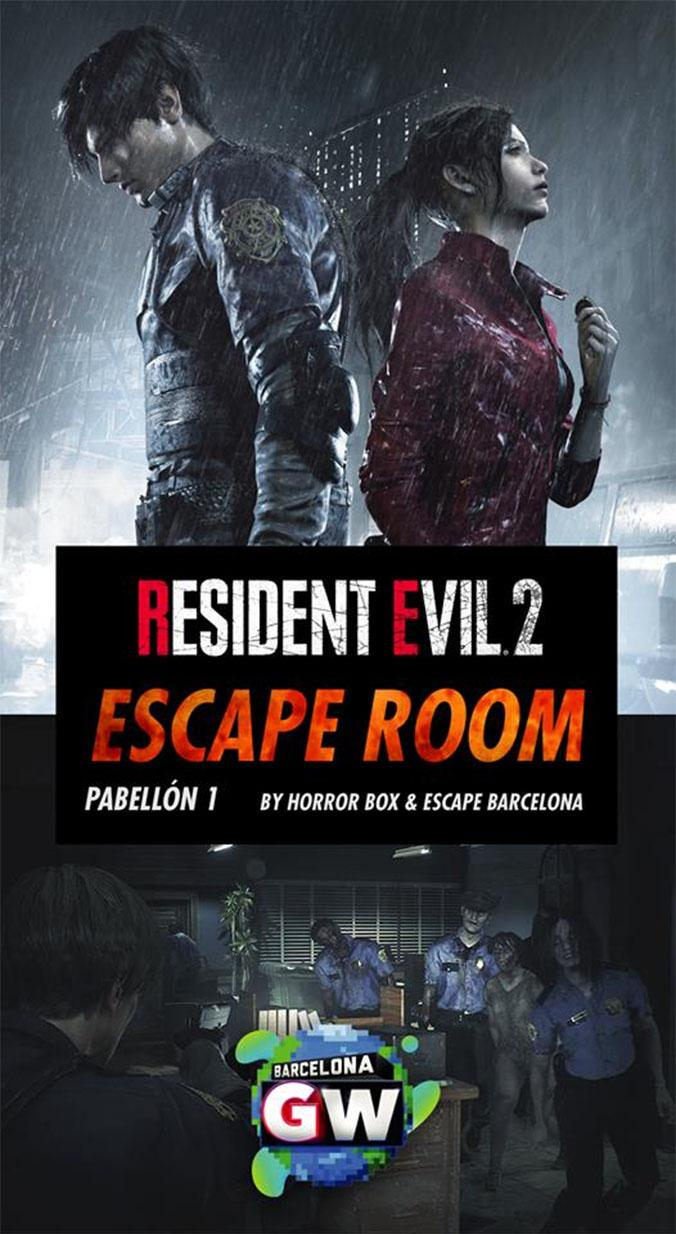 'Escape room' de 'Resident Evil 2' / BARCELONA GAMES WORLD