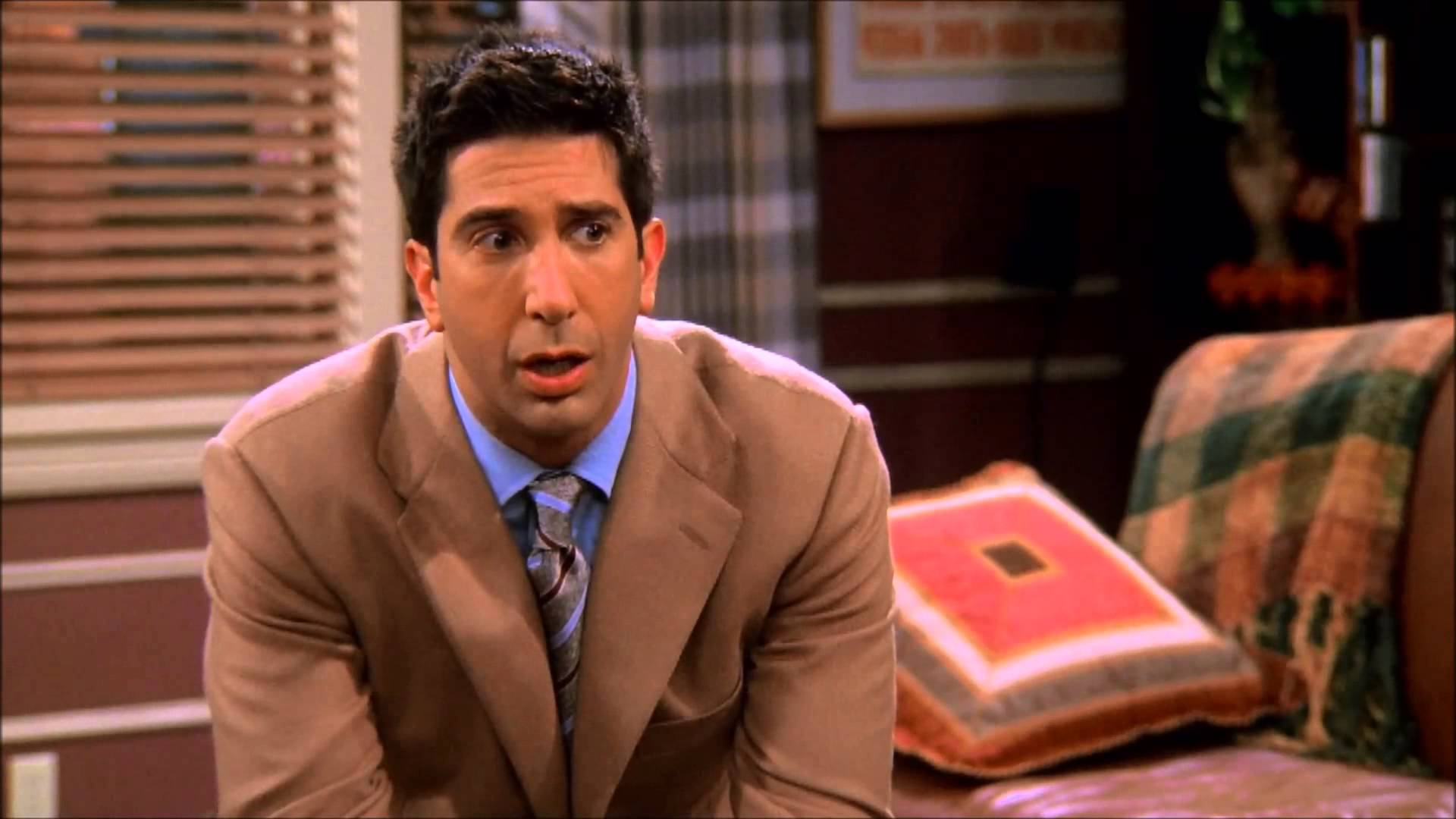 Ross Geller en una escena de la serie 'Friends' / CREATIVE COMMONS