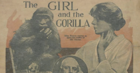 The Girl and the Gorilla, New York World Magazine, 1914 / UNIVERSITY OF MARYLAND