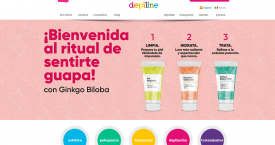 Captura de la web de Depiline Wax & Cosmetics / CG