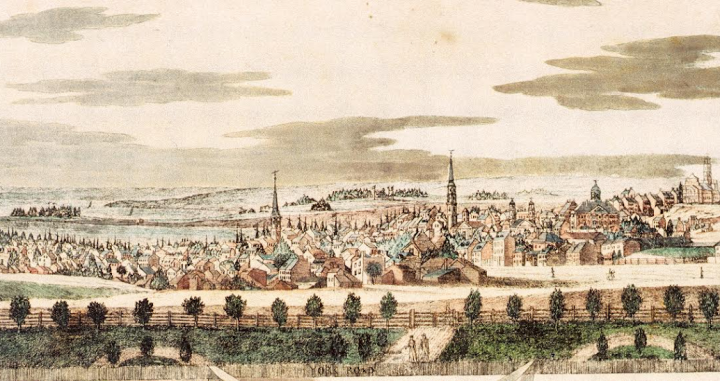 Baltimore from York Road (1816)