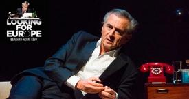 Bernard-Henri Lévy interpreta 'Looking for Europe' / GRUP BALAÑA