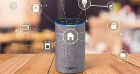 Amazon Echo con el asistente Alexa
