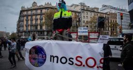 Protestas de sindicatos de mossos / EUROPAPRESS