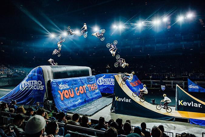 'You got this' / NITRO CIRCUS