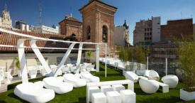 Terraza del Gymage Lounge Resort en Madrid