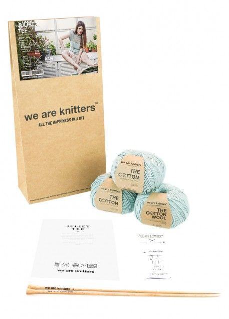 Kit tejer algodon We are Knitters