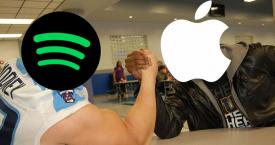 Un pulso en la guerra abierta entre Spotify y Apple / LEE ELDER - FLICKR