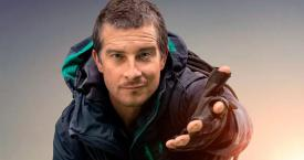 Bear Grylls en el póster de 'You vs. Wild' / NETFLIX