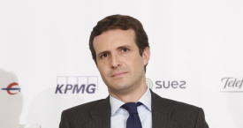 Pablo Casado, presidente del Partido Popular / EUROPA PRESS