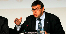 Jordi William Carnes, exdirector general de Barcelona Turisme / CG