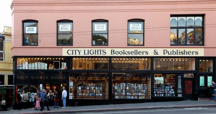 City Lights Bookstore / CAROLINE CULLER