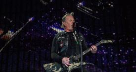 James Hetfield, vocalista de Metallica durante el concierto / EUROPAPRESS