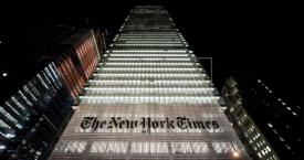 Edificio de 'The New York Times' en la Gran Manzana / EFE