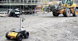 Un robot de Scaled Robotics en una obra / SCALED ROBOTICS