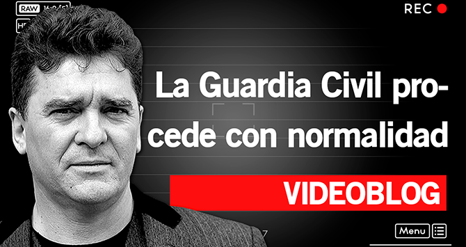 La Guardia Civil procede con normalidad