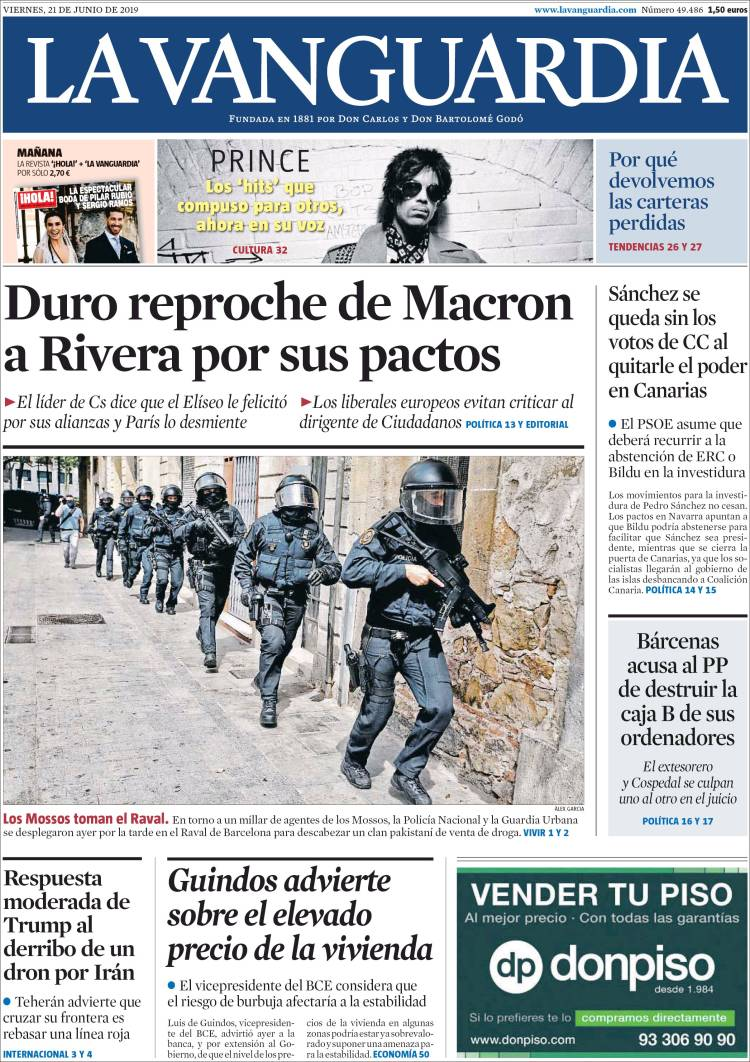 la vanguardia 21 junio