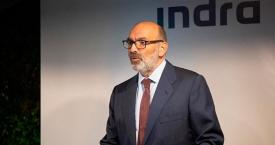 Fernando Abril-Martorell, presidente de Indra / EUROPA PRESS