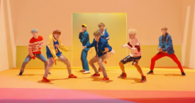 Imagen del videoclip DNA del grupo de K-Pop BTS  / BIGHIT ENTERTAINMENT