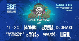 Cabezas de cartel del Barcelona Beach Festival / LIVE NATION
