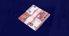 Billetes de 10 euros falsos / @MOSSOS