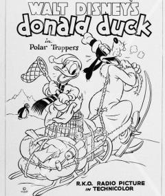 Walt Disney's Donald Duck In Polar Trappers R.KO Radio Picture In Technicolor
