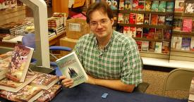 Brandon Sanderson en 2007 / CREATIVE COMMONS - NIHONJOE