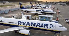 Varias aeronaves de Ryanair / EUROPA PRESS
