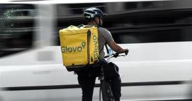 Uno de los riders de Glovo / EUROPA PRESS