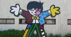 La obra 'Welcome', de Romero Britto / DAVID SHAY