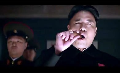 Kim Jong-un en la comedia 'The Interview'
