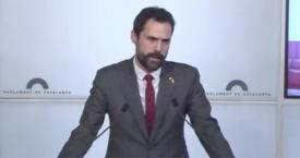 Roger Torrent, presidente del Parlament / CG
