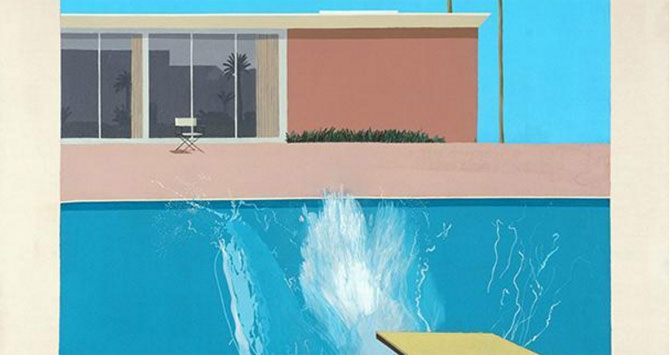 Hockney en su apoteosis