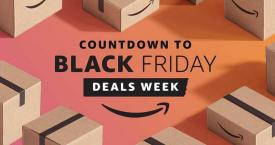 Campaña del Black Friday en Amazon