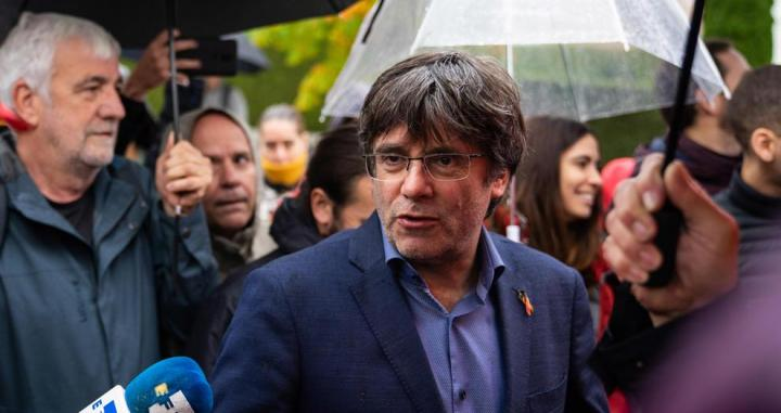 Carles Puigdemont en Bruselas / EUROPA PRESS