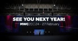 El cartel de despedida del Mobile World Congress Barcelona de 2019