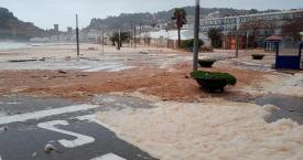 Inundaciones en Tossa de Mar por el temporal Gloria / EUROPA PRESS