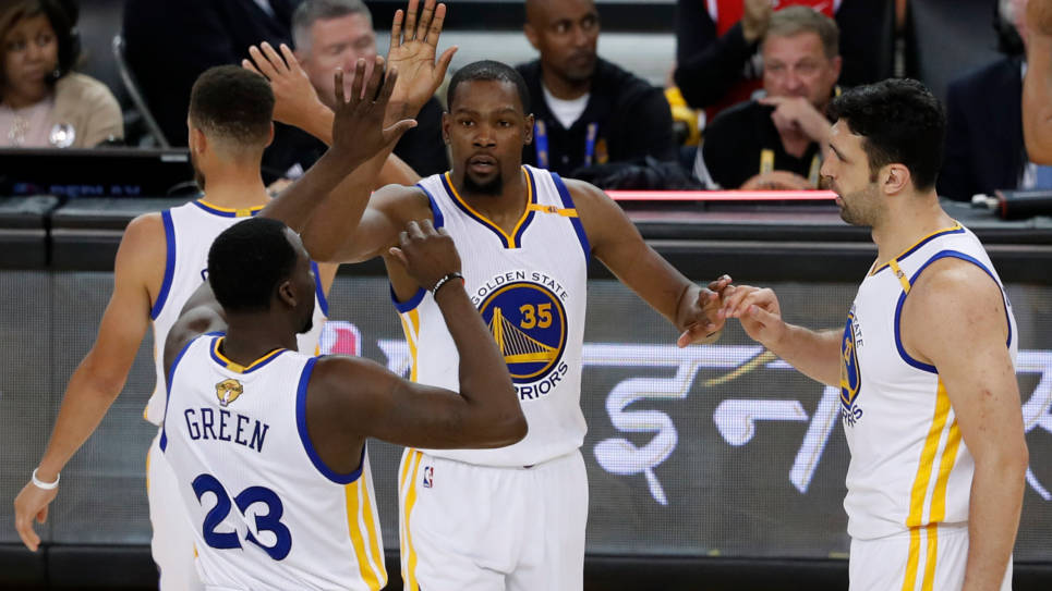 Golden State Warriors, vigente campeón de la NBA / EFE