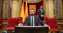 Roger Torrent, presidente del Parlament de Cataluña / EP