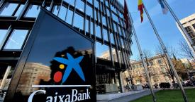 La sede de Caixabank en Madrid / EUROPA PRESS