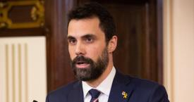 Roger Torrent, el presidente del Parlament / EP