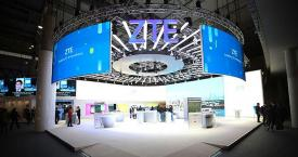 Stand de ZTE en el Mobile World Congress / ZTE