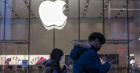 Una tienda de Apple cerrada en China / EUROPA PRESS