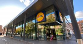Entrada de uno de los supermecados Lidl en Madrid / EUROPA PRESS