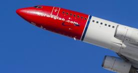 Avión de Norwegian durante un despegue / NORWEGIAN